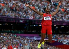 August 8, 2012 - Interactive Feature - NYTimes: Brittney Reese took the gold in the women's long jump.