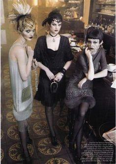 Vuelve a la moda el estilo años 20: fotos de los looks (15/43)   Ellahoy