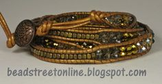 The recent Leather Wrap Bracelet class was certainly successful. The students had such a great time - really fun day. Beth and I put kits ...