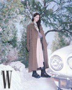 "Miu Miu on Instagram: ""What winter brings. #MiuMiu ambassador Yoona Lim @yoona__lim wearing #MiuMiuFW21 for @WKorea. Photographed by Ji Yong Yoon Styled by Bo…"""