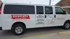 FASTSIGNS of Menomonee Falls applied vehicle graphics, for Carpet City. Check us out at fastsigns.com/452, call us at #262-253-0799, email us at 452@fastsigns.com, or come visit us at W173N9170 St. Francis Drive, Suite 1, Menomonee Falls, WI 53051