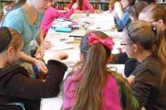 Hands-On Art Series Capitol Hill Branch Library Seattle, WA #Kids #Events