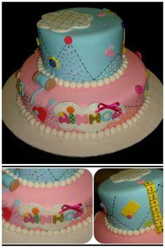"""Torta decorado y modelados con fondant, """" Lalaloopsy"""""""