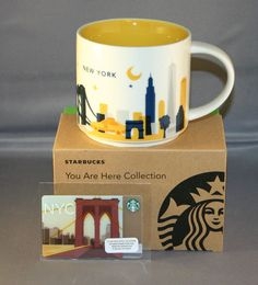 Starbucks mug New York.  Do you have one in your collection?