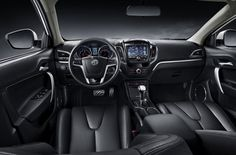MG5 interior: 'The main features of the car include LED head cluster lights, rear spoiler stance and an aerodynamic shape, all of which offer a look that's both sporty and sophisticated'