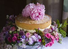 Just a very simple Victoria sponge - but SO prettily presented!