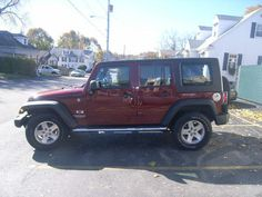 Pre-Owned 2008 Jeep Wrangler 4WD 4dr Unlimited X