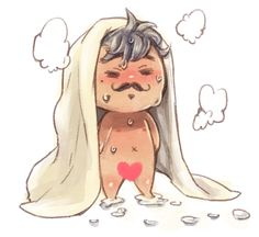 Naked chibi Dorian. The things I never knew could make my day #dragon #age #inquisition