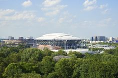 Arthur Ashe Stadium to Debut Retractable Roof at the 2016 U.S. Tennis Open
