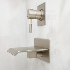 Lavelle Wall-Mount Waterfall Tub Faucet - Bathroom