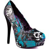 surprisingly i like  this shoe!  Iron Fist's Multi-Color Crosswinds Platform - Teal for 69.99 direct from heels.com