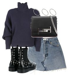 """""""Untitled #3221"""" by theeuropeancloset ❤ liked on Polyvore featuring Balenciaga, Tod's and ASOS"""