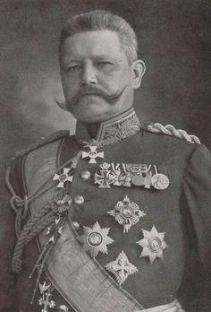 General Paul von Hindenburg.