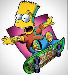 The Barto, The Simpsons – Paris Disneyland Pictures – Graffiti World Simpsons Tattoo, Simpsons Drawings, Cartoon Drawings, Cartoon Art, Famous Cartoons, 90s Cartoons, Simpson Wallpaper Iphone, Cartoon Wallpaper, Graffiti Tattoo