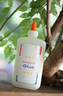 Homemade Glue - I Can Teach My Child!