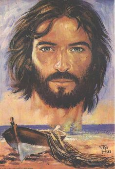 Jesus images   Rostro de Cristo en el mar Foto - Videos y Música cristiana en padre ...