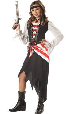 California Costumes Ruby The Pirate Beauty Child Costume 35e817e478df