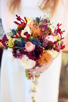 Bohemian Steampunk Wedding Inspiration From France - Weddingomania Autumn Wedding, Red Wedding, Wedding Shoot, Steampunk Wedding, Bride Bouquets, Bridal Flowers, Floral Arrangements, Beautiful Flowers, Orange