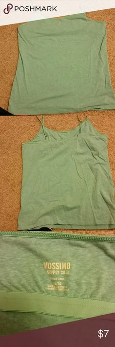 Mossimo tank w/built in bra size xl Tank has adjustable straps and built in bra. Lots of wear left Mossimo Supply Co. Tops Tank Tops