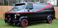 The A-Team van.  A true legend, and the inspiration for our GlowPong van.