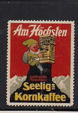 Advertising Poster Cinderella Stamp Germany  Corn Coffee