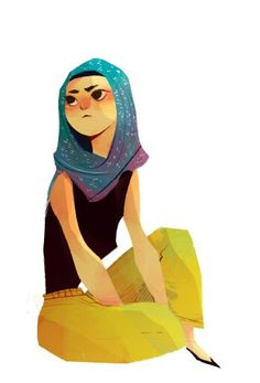 IONA? |D I love the scarf o3o; and I know she's darker but