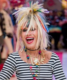 Betsey Johnson' has teamed up with Macy's to design a line inspired by DreamWorks Animation's upcoming movie Trolls, fittingly named Betsey Johnson xox Trolls