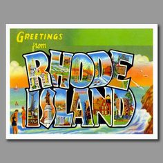 14 best greetings from postcards images on pinterest photo greetings from rhode island postcard m4hsunfo