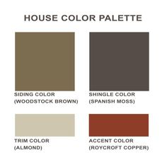 Accent Colors house paint colors that go with red brick | the dominant colours