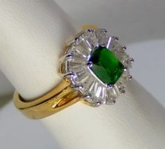 Let's face it, emerald rings are gorgeous.  #teamsellit