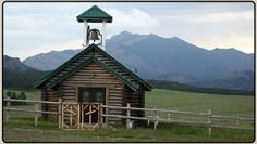 I always loved this little church near Laramie Peak Beautiful