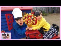 미니 유니와 맛있는 사탕 같이 먹어요~ Pororo Pinkfong Candy - Romiyu 로미유 - YouTube