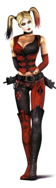 My Arkham CITY Harley Quinn