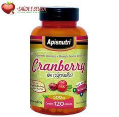 Cranberry tem como uma de suas principais características a ação antioxidante neutralizando os prejudiciais radicais livres protegendo assim nosso organismo. Possui a flavonoide que ajuda a diminuir diversas doenças principalmente cardiovasculares e auxilia no retardamento do envelhecimento precoce. Confira!  http://www.maissaudeebeleza.com.br/p/378/cranberry-apisnutri-500mg-c60-capsulas?utm_source=pinterest&utm_medium=link&utm_campaign=cramberry&utm_content=post