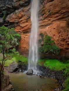 Bridal Vale Falls by cnrd.deviantart.com on @deviantART