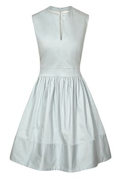 bb5e96a6155de9 Mary Powder Blue Sculpted Prairie Dress from Reiss S S 2013