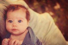 Ahhhh I love baby redheads! Little Babies, Little Ones, Cute Babies, Beautiful Children, Beautiful Babies, Ginger Babies, Baby Kind, Pretty Baby, Kind Mode