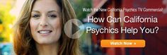 Psychics are scattered throughout whole world but only few can give accurate readings. California Psychics is one of the best telephone psychics that can give you accurate readings, cheap calls, and the most important thing – they can give you the best services they can offer. @ http://phonepsychicsreadings.com/california-psychics/