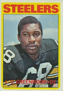 1972 Topps Football L. Greenwood Rookie Card # 101 Near Mint Condition Pittsburgh Steelers Football, Pittsburgh Sports, Pittsburgh Penguins, Dallas Cowboys, Football Trading Cards, Football Cards, Baseball Cards, Steelers Super Bowls, Bob