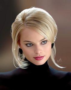 Margot Robbie....