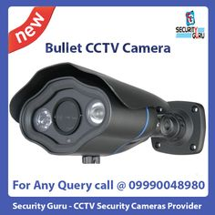 Online shopping for Bullet Cameras from a great selection at best Security System Store and Electronics Store in Delhi/NCR - Security Guru Best Security System, Best Home Security, Wireless Home Security Systems, Security Alarm, Video Security, Wireless Video Camera, Cctv Security Cameras, Bullet Camera, Home Defense
