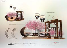 Tai Koo Hui Seasonal Decoration on Behance