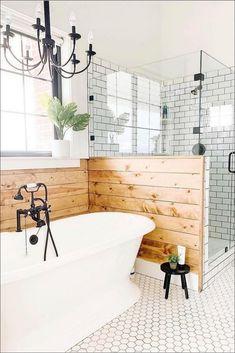 Simple Master Bathroom Renovation Ideas #bathroom #bathroomdecor #bathroomrenovationideas Bathroom Wall, Bathroom Interior, Master Bathroom, Bathroom Ideas, Bathroom Renovations, House Renovations, Bathroom Design Small, Bathroom Inspiration, Garden Inspiration