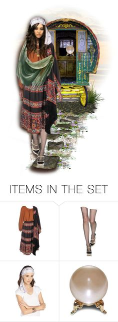 """""""Gypsy Rose 🌹"""" by shay-h ❤ liked on Polyvore featuring art, doll, gypsy, dollset and dollart"""