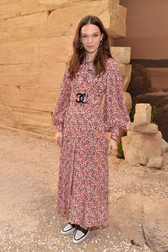 Anna Brewster in Chanel