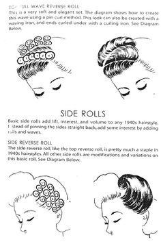 Side Rolls From The Book S Hair Chaplinatra Flickr S Hairstyles