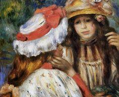 """Duas Irmãs"" - Renoir Pintor francês (1841-1919)"