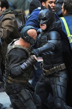 dark knight rises on set photos | Trailer: El caballero oscuro: La leyenda renace (The Dark Knight Rises ...