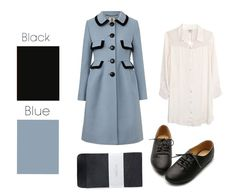 Fall Color Combinations to try: Black & Blue  BuzzFeed, 26 Essential Fall Color Palettes You Need To Try