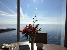 stunning view from our breakfast table